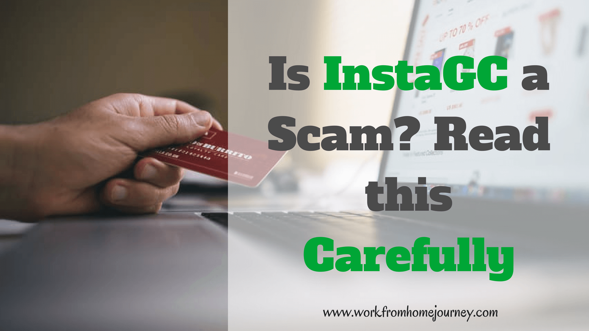 Is InstaGC a Scam? Read this Review Carefully