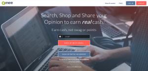 Qmee.com Homepage