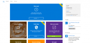 Microsoft Rewards offers page