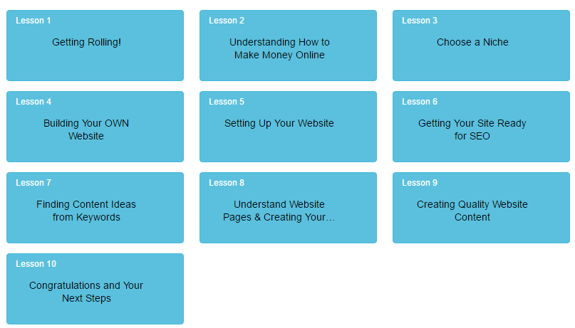 Online Entrepreneur Certification Course - First 10 Lessons