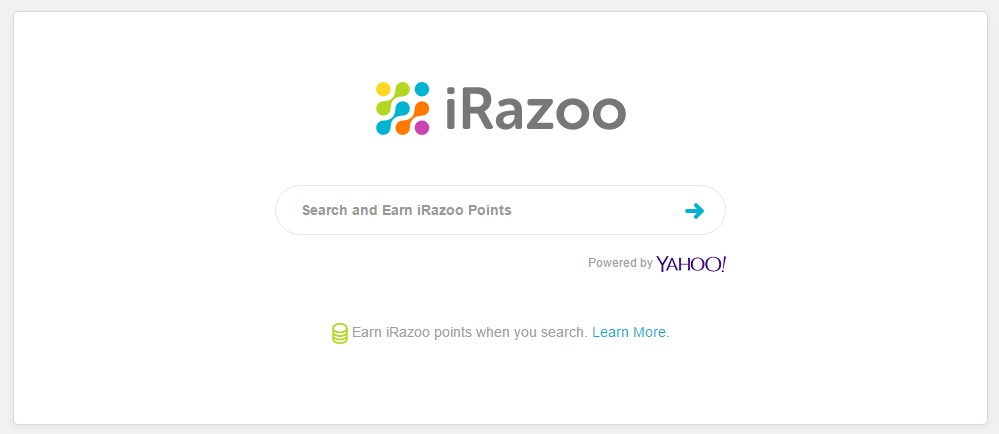 Paid to search - iRazoo's search engine