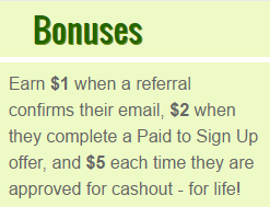 Fusion Cash referral bonus