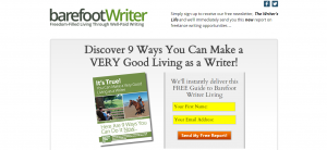 Barefoot Writer's free eBook