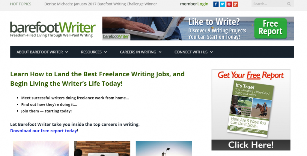 writers web sign up