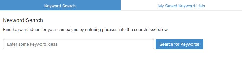 Wealthy Affiliate keyword tool