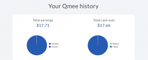Qmee Payment History
