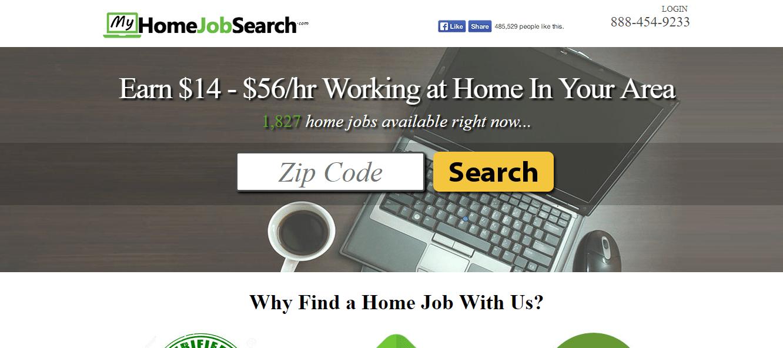 Spammy data entry website