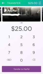 Dosh $25 payment