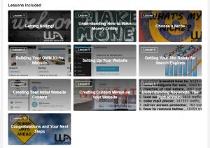 Wealthy Affiliate online entrepreneurship courses