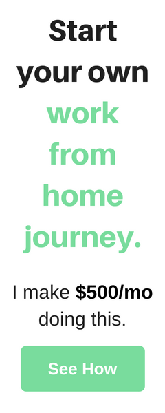 Start your own work from home journey