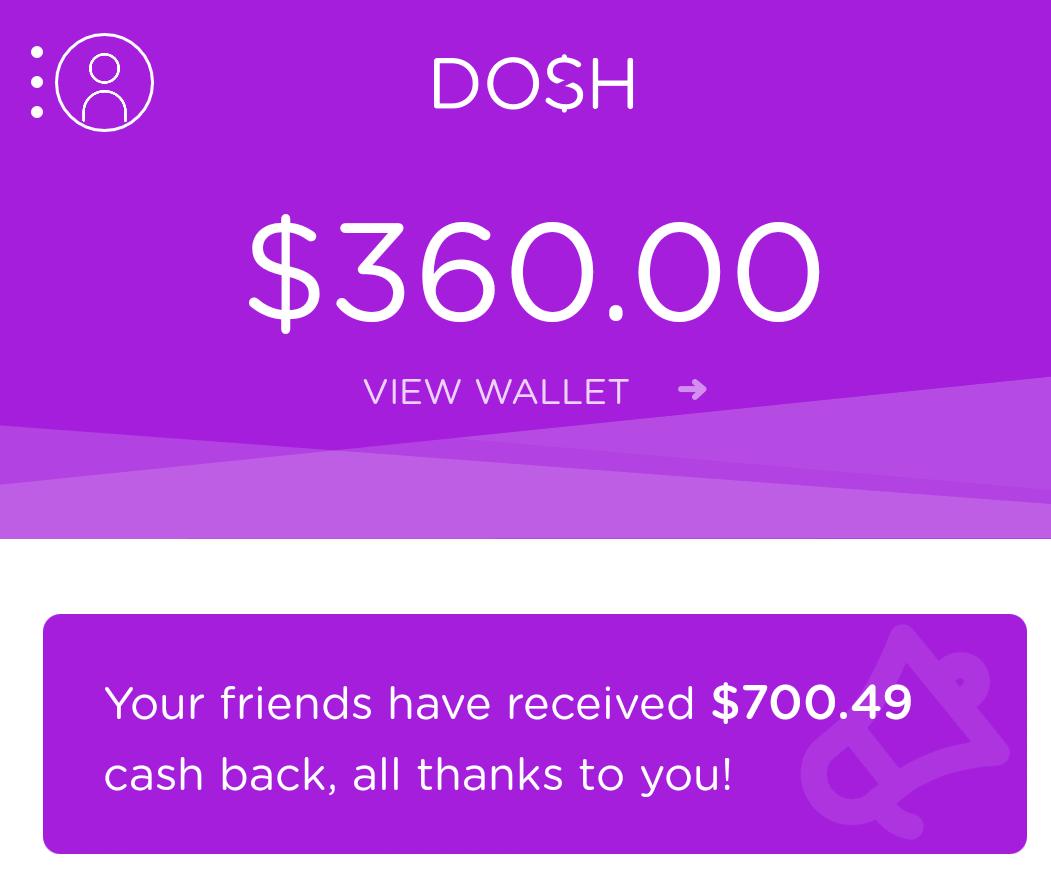 Dosh earnings
