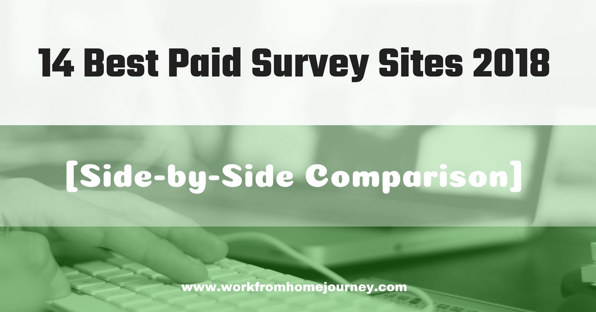14 Best Paid Survey sites 2018