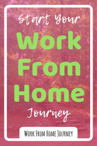 Ready to start your work from home journey? I'll show you the best way to get started (in less than 10 minutes). #workfromhome #journey #makemoneyonline #wahm #blogging