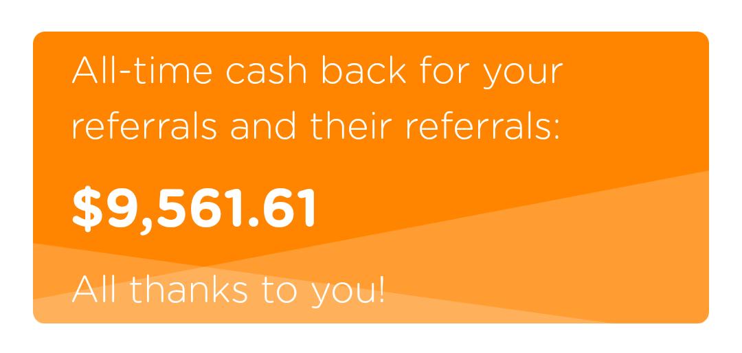 Dosh referral earnings