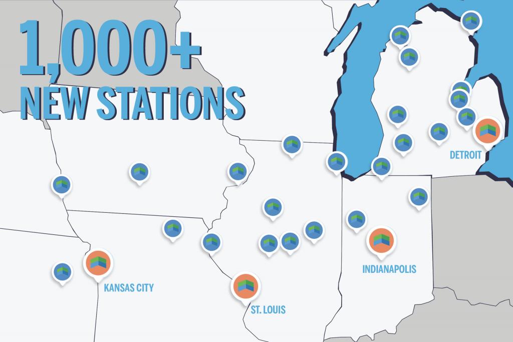 1,000+ New GetUpside Locations