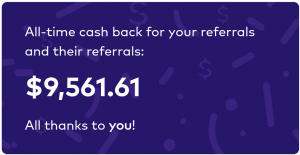 Dosh referral earnings