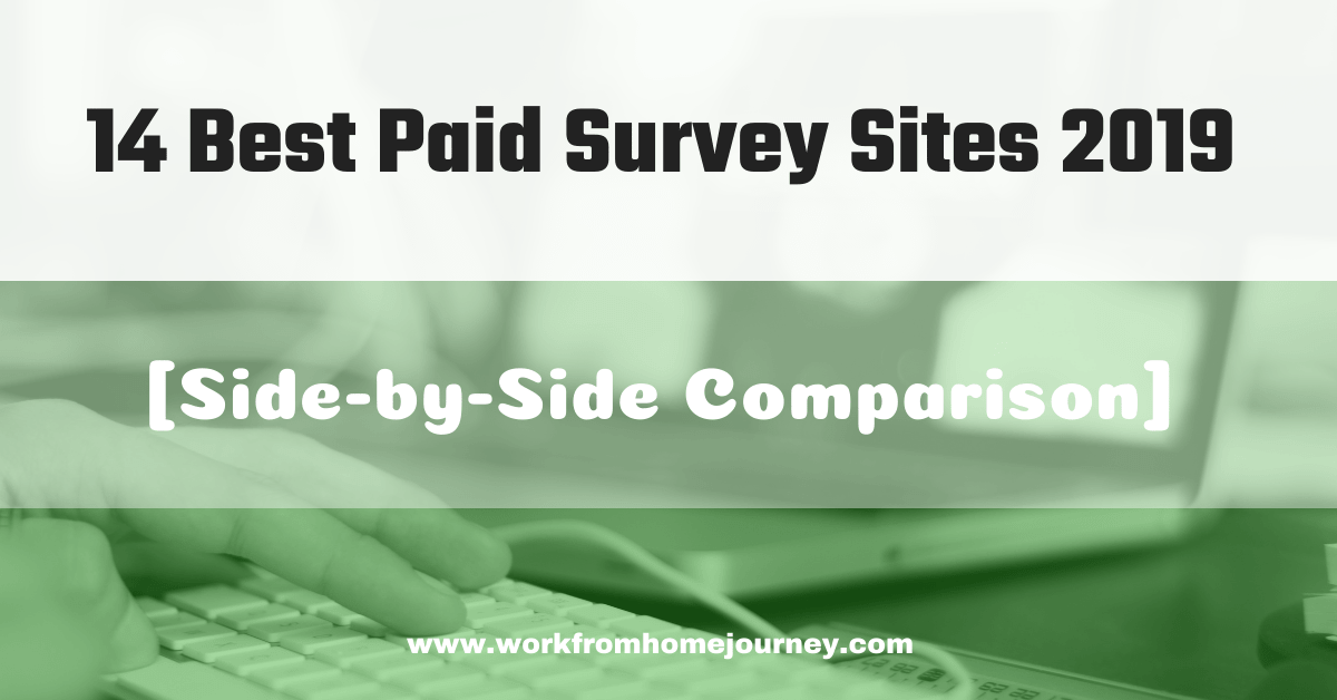 Best paid survey sites of 2019