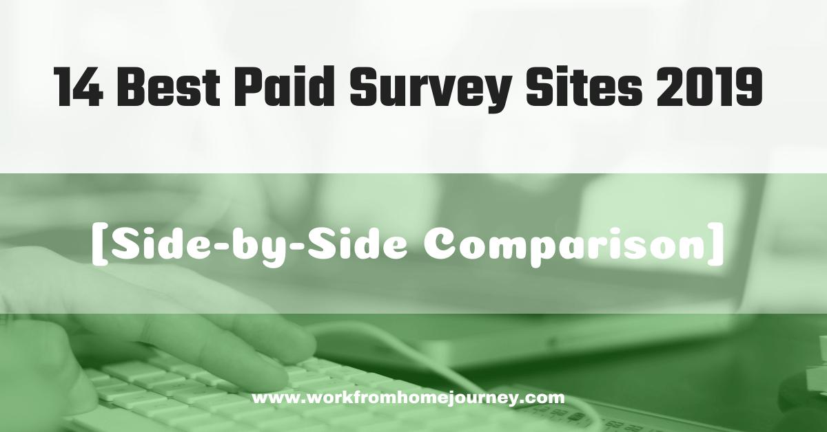 Best paid survey sites of 2019