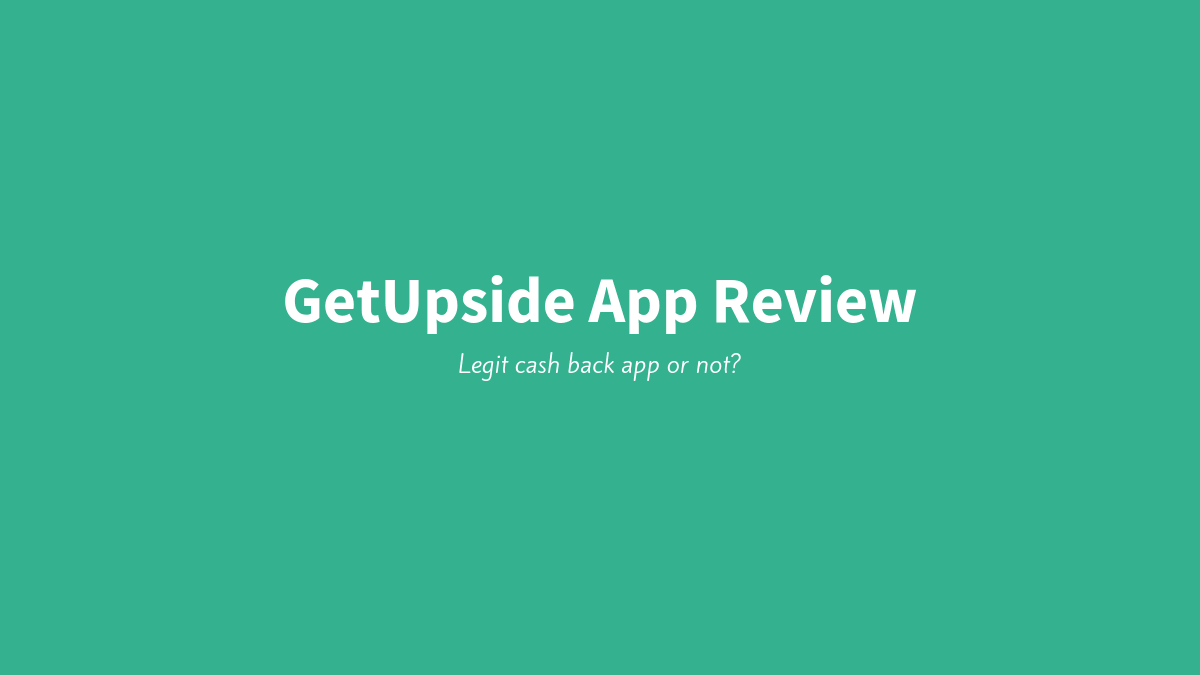 GetUpside App Review image