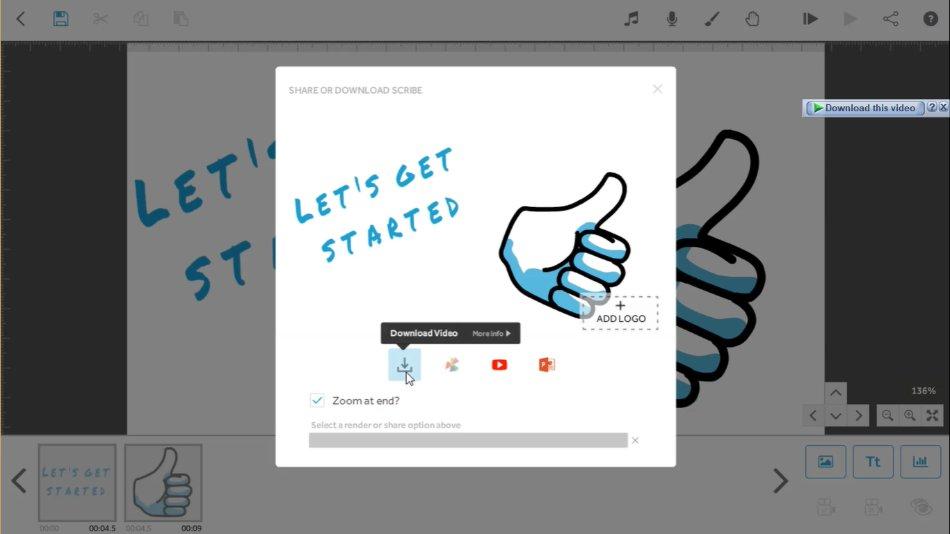 VideoScribe animator